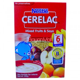 Nestle Cerelac Mixed Fruits & Soya 250g