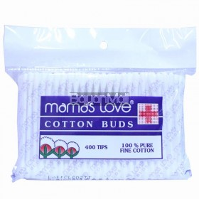 Mama's Love Cotton Buds 100% Pure fine Cotton 400 tips
