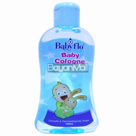 Babyflo Baby Cologne Powder Puff 100ml