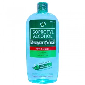 Green Cross Isopropyl Alcohol 70% Hypoallergenic Moisturizer  500ml