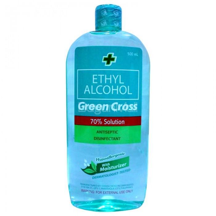 Green Cross Ethyl Alcohol 500ml