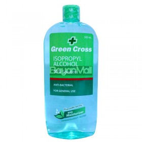 Green Cross Isopropyl Alcohol 40% Hypoallergenic Moisturizer 500ml