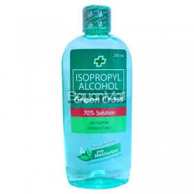 Green Cross Isopropyl Alcohol 70% Hypoallergenic Moisturizer 250ml
