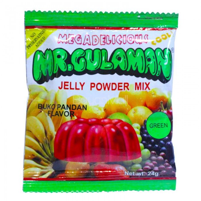 Jelly powder mix