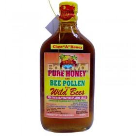 Wild Bees Jul Pure Honey With Bee Pollen Class A Honey 375ml
