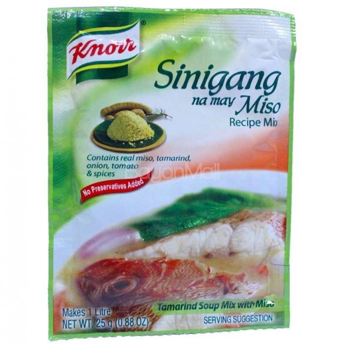 Knorr Sinigang Na May Miso Recipe Mix 25g
