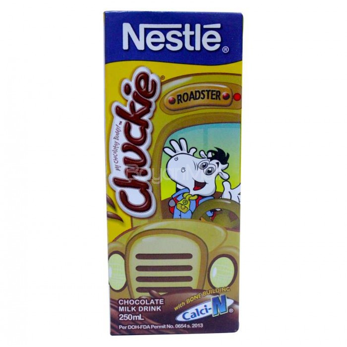 Nestle chuckie chocolate milk drink 250ml sciox Choice Image