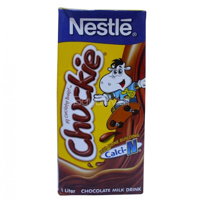 Nestle chuckie chocolate milk drink 1l sciox Choice Image
