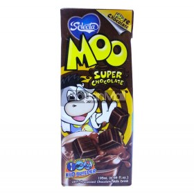 Selecta Moo Super Chocolate Milk Drink 195mL
