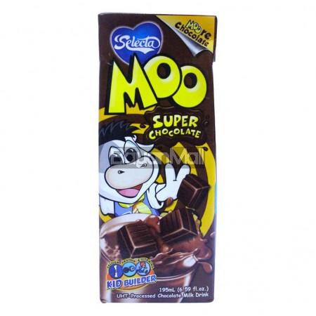 Selecta Moo Super Chocolate Milk Drink 195mL