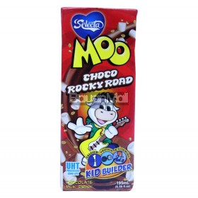 Selecta Moo Choco Rocky Road (Milk Drink) 195mL