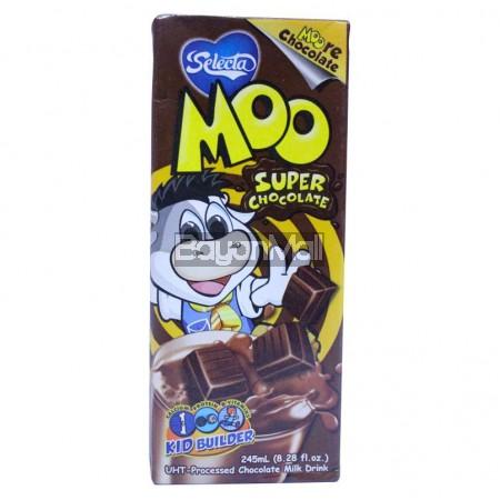 Selecta Moo Super Chocolate (Milk Drink) 245mL