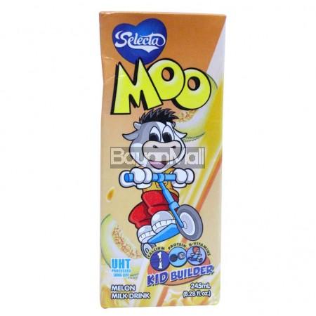 Selecta Moo Melon Milk Drink 245mL