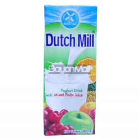 Dutch Mill Yoghurt Drink With Mixed Fruits Juice 180mL