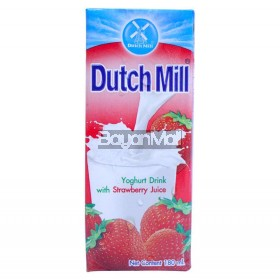 Dutch Mill Yoghurt Drink With Strawberry Juice 180mL