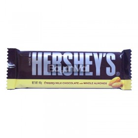 Hershey's Creamy Milk Chocolate with Whole Almonds 40g