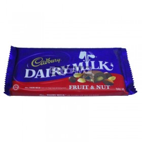 Cadbury Dairy Milk Fruit & Nut 165g