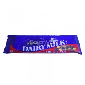 Cadbury Dairy Milk Fruit & Nut 65g