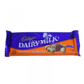 Cadbury Dairy Milk Roast Almond 75g