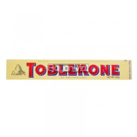 Toblerone Swiss Milk Chocolate with Honey and Almond Nougat 200g
