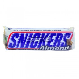 Snickers Almond (Milk Chocolate-Almonds-Caramel-Nougat) 49.9g