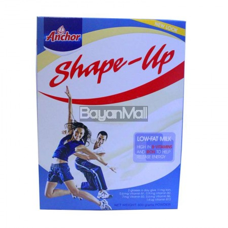 Anchor Shape-Up Low Fat Milk 800g - In a box