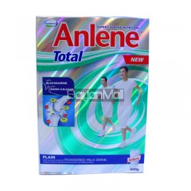 Anlene Total Powdered Milk Drink (Plain) 400g - In a box