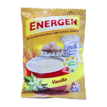 Mattress Brand Reviews >> Energen Nutritious Milk & Cereal Drink (Vanilla) 30g