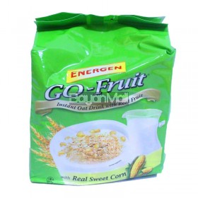 Energen Go-Fruit Instant Oat Drink with Real Fruit 10x33g
