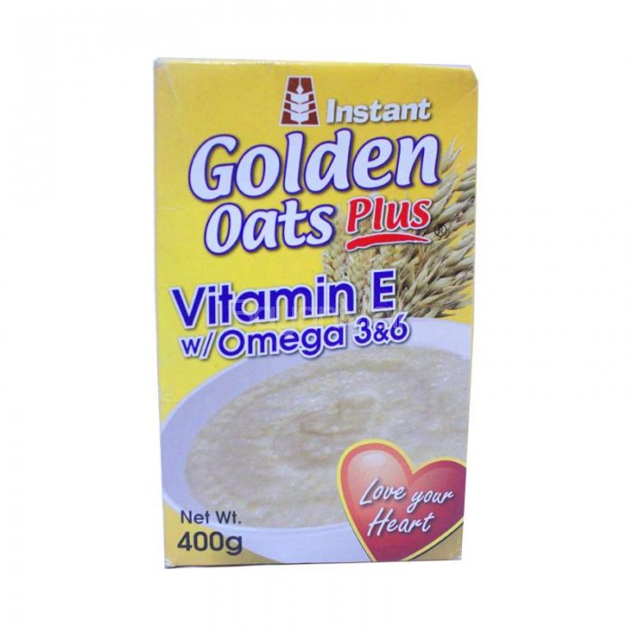 Instant Golden Oats Plus Vitamin E With Omega 3 Amp 6 400g