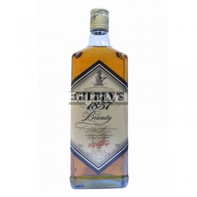 Gilbey's 1857 Brandy 33% vol 700ml in a bottle