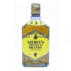Gilbey's Premium Brandy 33%vol 375ml in a bottle