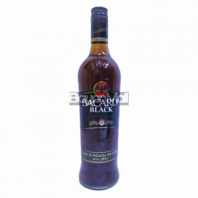 Bacardi Black 75cl 37.5% vol 750ml