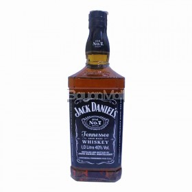 Jack Daniel's Jennessee Sour Mash Whiskey 40%vol.1.0L in a bottle