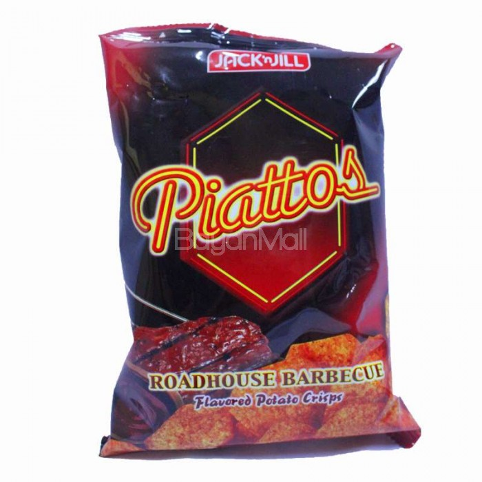 Jack N Jill Piattos Road House Barbecue Flavored Potato