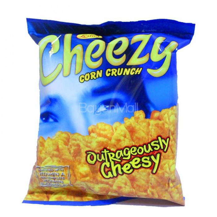 Leslie S Cheezy Corn Crunch Outrageously Cheesy 70g