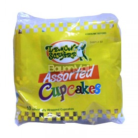 Lemon Square Assorted Cupcakes 10's (350g)