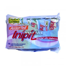 Lemon Square Inipit Assorted Cake Sandwich 220g (22gx10)