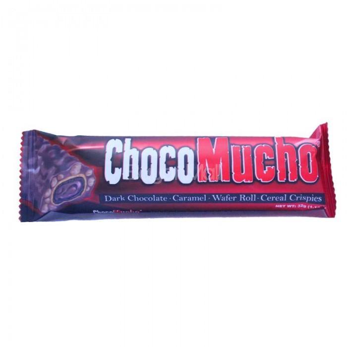 Choco Mucho Dark Chocolate Caramel Wafer Roll Cereal