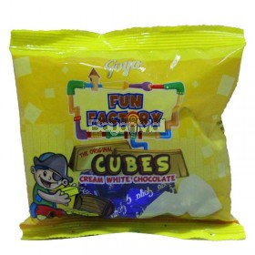 Goya Fun Factory Cubes (Cream White Chocolate ) 35g 14pcs.