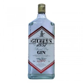 Gilbey's 1857 Special Dry Gin 37.5%alc./vol. 1Litre in a bottle