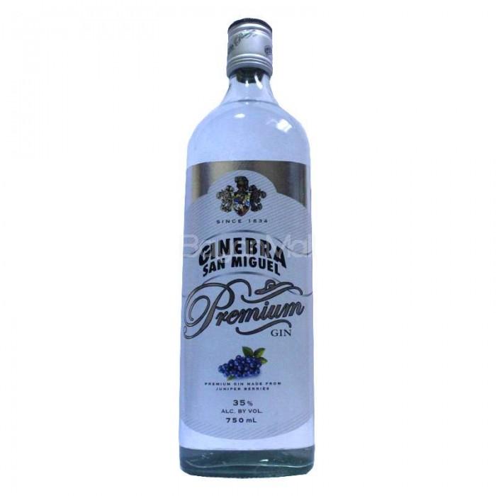 Ginebra San Miguel Premium Gin 35 Vol 750ml In A Bottle