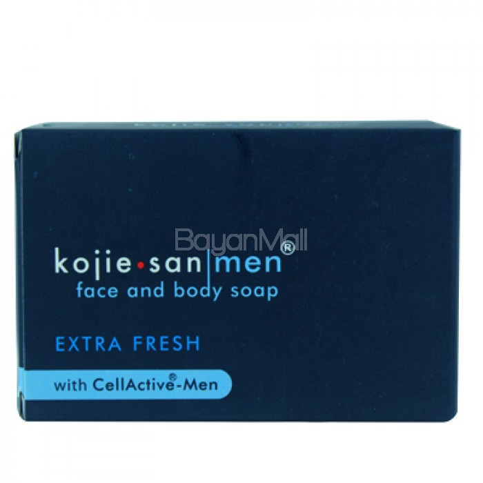 Kojie San Men Face And Body Soap Extra Fresh With