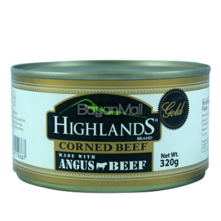 Highlands Gold Corned beef made w/ Angus beef 320g