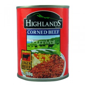 Highlands Corned beef with Angus Beef 260g