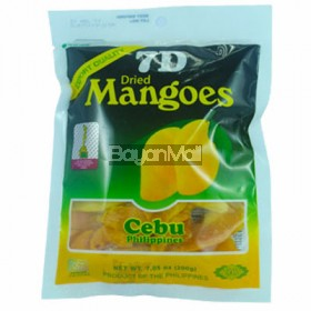 7D Dried Mangoes Cebu Philippines 200g