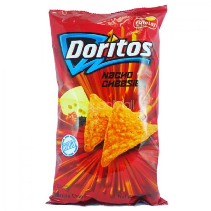 Doritos Nacho Cheesier Frito Lay Tortilla Chips 198 4g