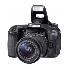 Canon EOS 80D w/ EF-S 18-55mm lens