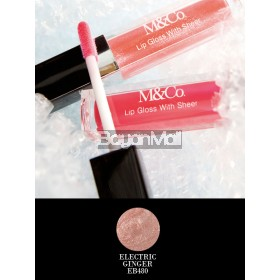M&Co. Lip Gloss - No Shine With Sheer