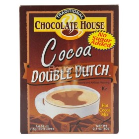 Chocolate House Traditional Cocoa Double Dutch 60g